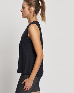 Brasilfit - Madalena Muscle Tee Tops (Black)