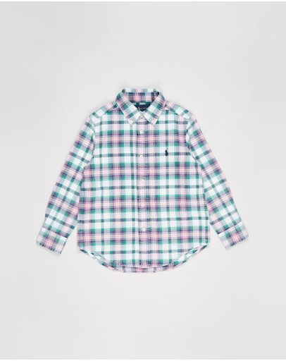 Polo Ralph Lauren - Long Sleeve BD Shirt - Kids