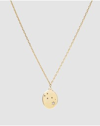 Luna Rae - Solid Gold - Stars of Taurus Necklace