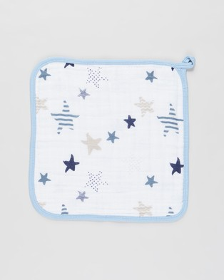 Aden & Anais Muslin Backed Hooded Towel Set - Towels (Rock Star)