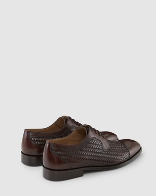 Aquila Cardiff Dress Shoes - Dress Shoes (Brown)