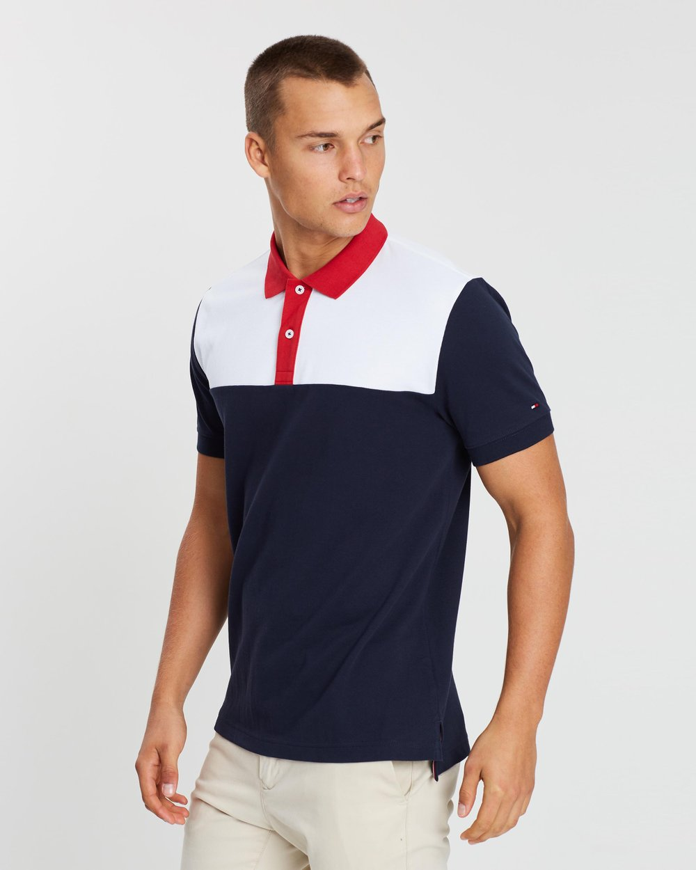 c01ffe5a WCC Colour-Block Regular Polo by Tommy Hilfiger Online | THE ICONIC |  Australia