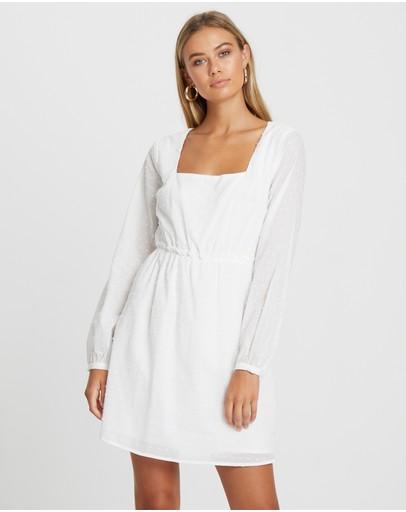 Calli Abriana Dress White