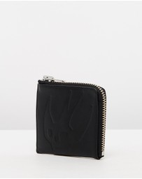 McQ by Alexander McQueen - Embossed Zip Wallet