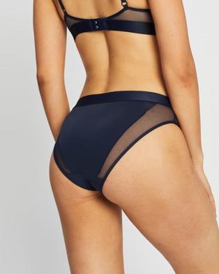 Tommy Hilfiger Flag Core Mesh Bikini Briefs - Bikini Briefs (Navy Blazer)