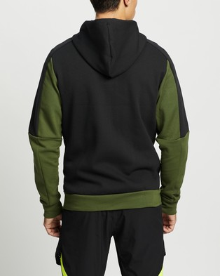 adidas Performance Must Haves Full Zip Stadium Hoodie - Hoodies (Wild Pine & Black)