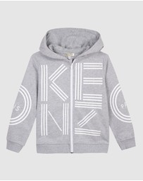 Kenzo Kids - Logo Hooded Sweater - Kids