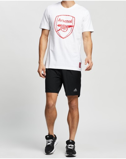 Adidas Performance Run It Shorts Black & Signal Pink
