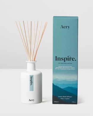 Aery Living Mindful 200ml Reed Diffuser Diffusers Blue