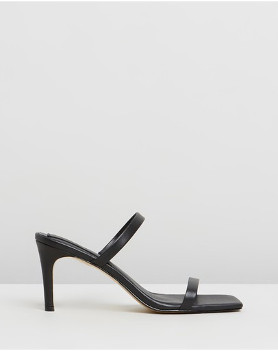 Jaggar The Label - Two Strap Leather Heels