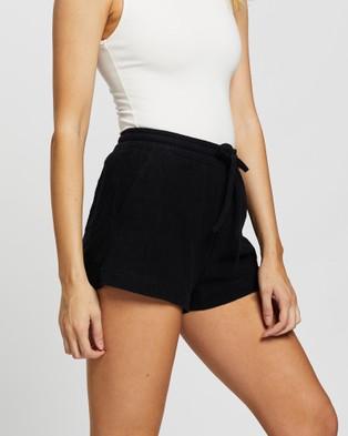 Rusty Lovewild Shorts - High-Waisted (Black)