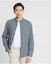 J.Crew - Secret Wash Double Gingham Shirt