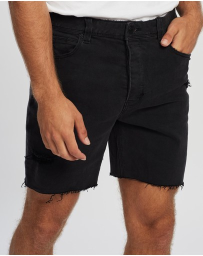 Abrand - A Cropped Slim Shorts
