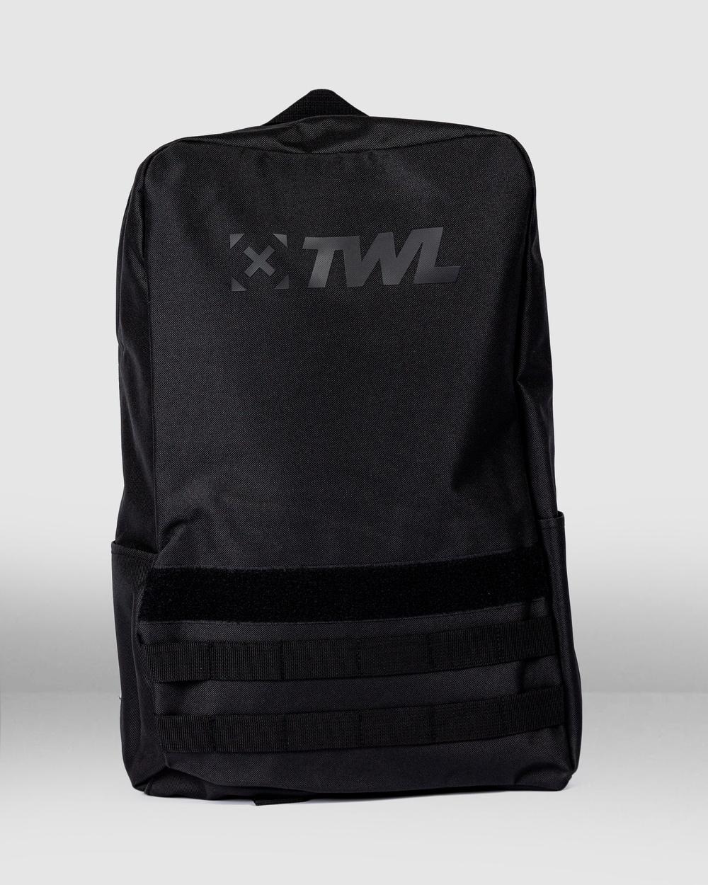 The WOD Life Essentials Backpack Gym & Yoga Black