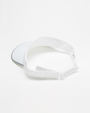 adidas Performance Aeroready Run Visor - Visors (White, White & Reflective Silver)
