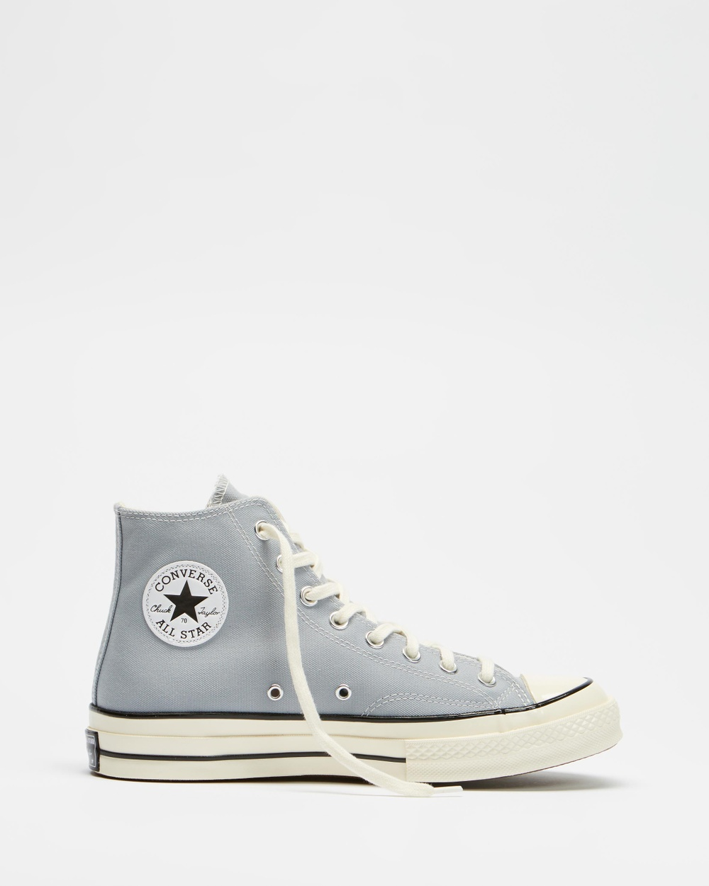 Converse Chuck Taylor All Star 70 High Tops Unisex Sneakers Wolf Grey & Black