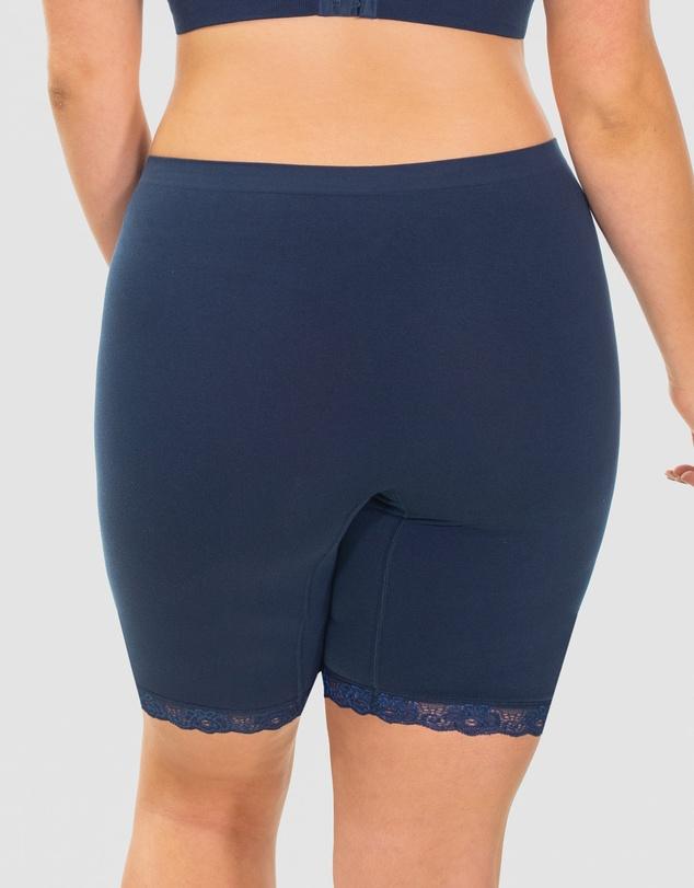 Women Mid Rise Anti-Chafing Cotton Shorts
