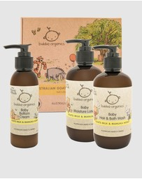 Bubba Organics - Goats Milk & Manuka Honey Baby Essentials Gift Box