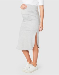 Pea in a Pod Maternity - Maci Skirt