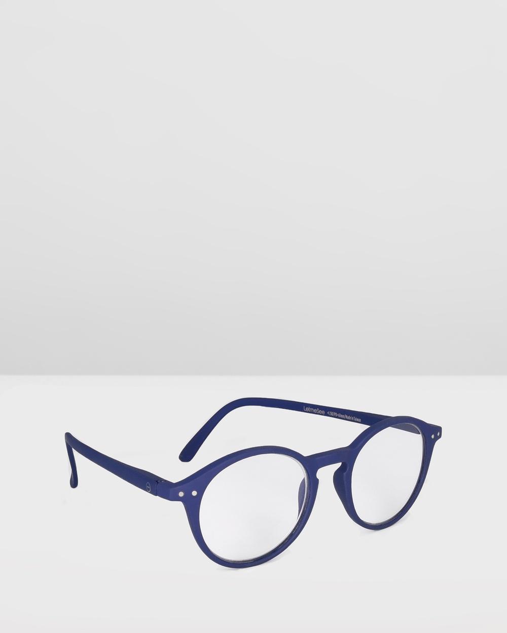 IZIPIZI Reading Collection D Optical Navy Blue