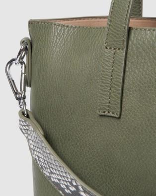 Urban Originals Mini New Dawn Tote - Handbags (Green)