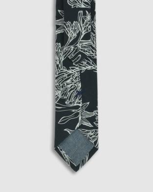 Peggy and Finn Kangaroo Paw Tie - Ties (Black)