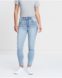Cotton On - High Rise Grazer Jeans