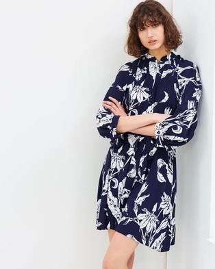 Karen Walker – Delahaye Dress Navy
