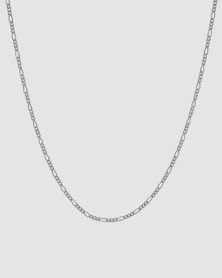 Northskull Medium Chain Necklace - Jewellery (Silver)