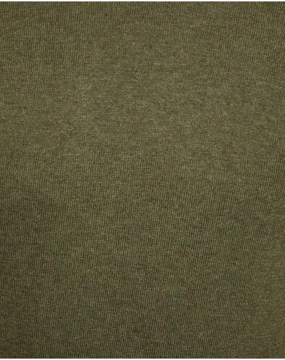 Oxford Axel Cotton Crew Neck Pullover Khaki