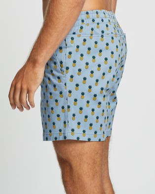Jack & Jones Andrew Free Jogger Shorts - Swimwear (Ashley Blue)