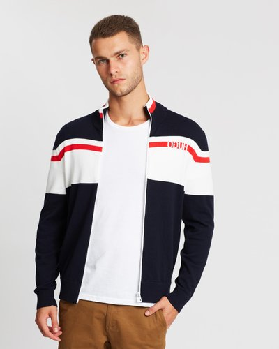 Tracksuit Zip-Through Cardigan
