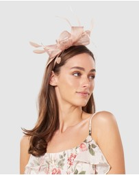 Forever New - Bayley Feather Bow Headband