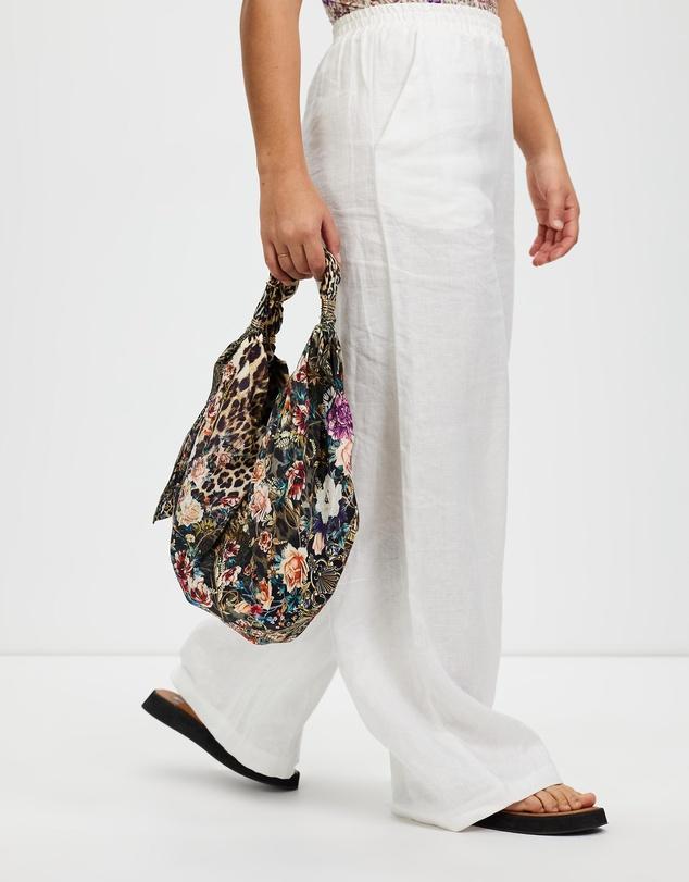 Women Ascot Tie Mini Bag