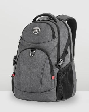High Sierra Sussex RFID Laptop Backpack - Backpacks (Heather Grey)