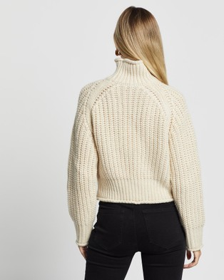 Third Form Own Beat Chunky Turtleneck - Jumpers & Cardigans (Shell)