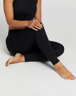 Liquido Active Extra Long Eco Leggings - Full Tights (Black)