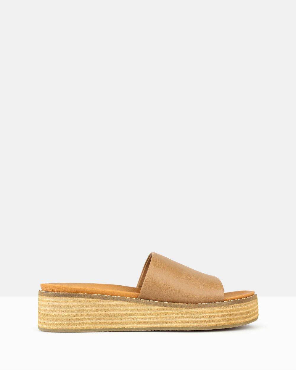 4bae4870e41 Revolve Slip On Wedge Sandals by Betts Online