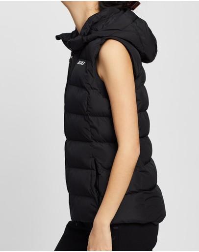 2xu Insulation Vest Black & White Reflective