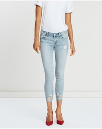 J Brand - Low-Rise Crop Skinny Jeans