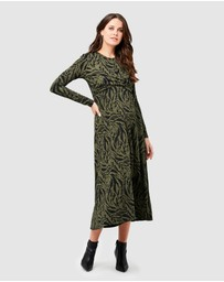 Ripe Maternity - Lynx Cross Front Nursing Dress