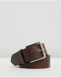 Double Oak Mills - Smooth Leather 40mm Belt