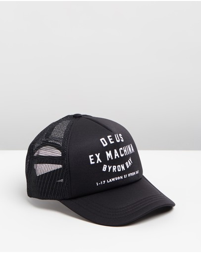 Deus Ex Machina Byron Bay Trucker Black