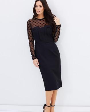 Cooper St – Embellish Dress – Dresses (Black)