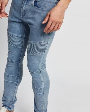 Commune Denim Jeans - Jeans (Washed Blue)