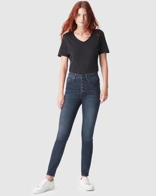Mavi Scarlett Jeans - High-Waisted (Deep Stretch)