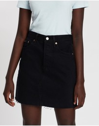 Levi's - High-Rise Deconstructed Iconic Boyfriend Skirt