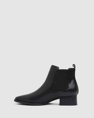 Jane Debster Decan - Mid-low heels (BLACK)