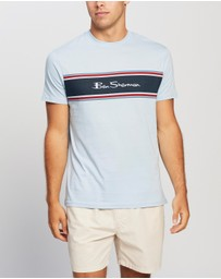 Ben Sherman - Chest Stripe Logo Print Tee