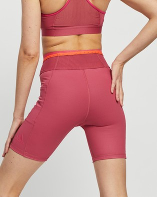 adidas Performance Techfit High Rise Short Tights Sports Wild Pink High-Rise